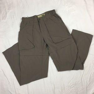 Women's Cabelas Utility Convertible Zip Off Pant